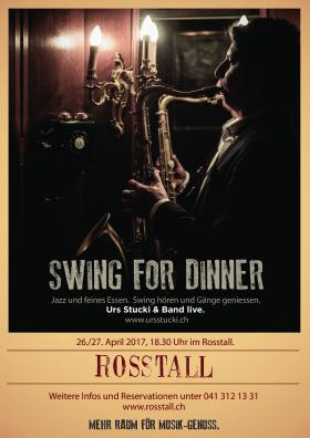 Flyer Swing For Dinner